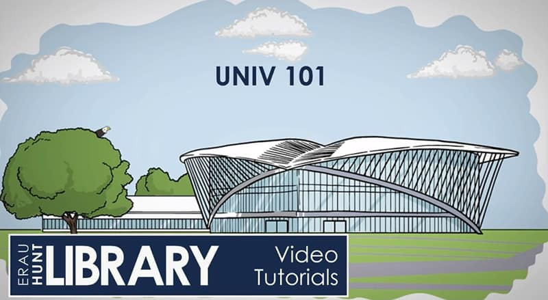 Video Tutorial - UNIV 101